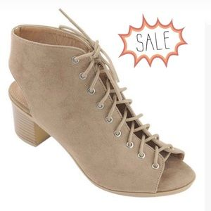 Bella Marie Breeze Taupe Suede